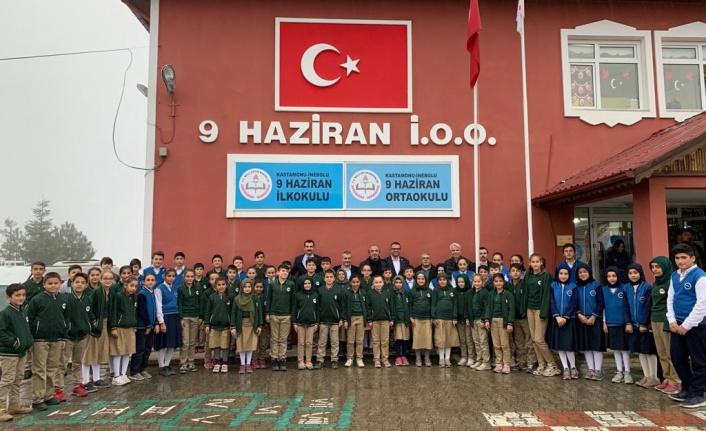 Rotary Kulübü'nden köy okullarına eğitim desteği