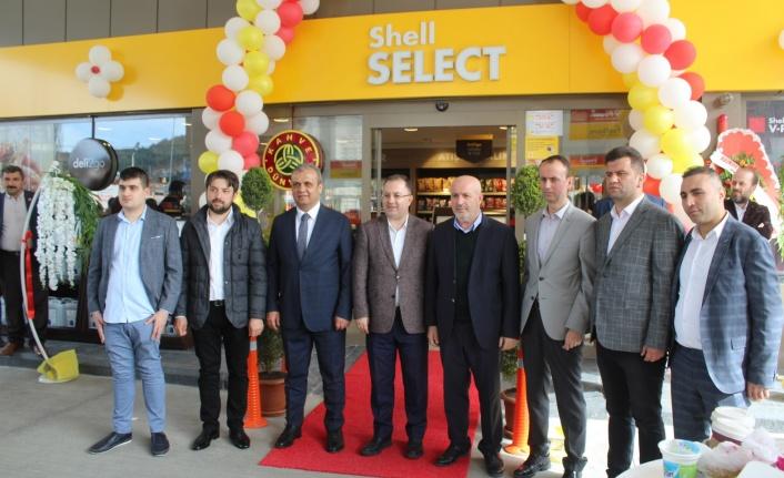 Sahilin İlk Shell İstasyonu Bozkurt'ta Açıldı