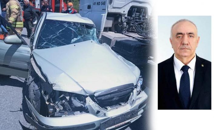 Mehmet Temel trafik kazasında yaşamını yitirdi