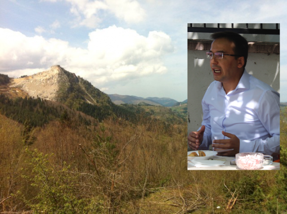 Baltacı; Doruktaki Taş Ocağı Köylerin Su Kaynaklarını Bozuyor