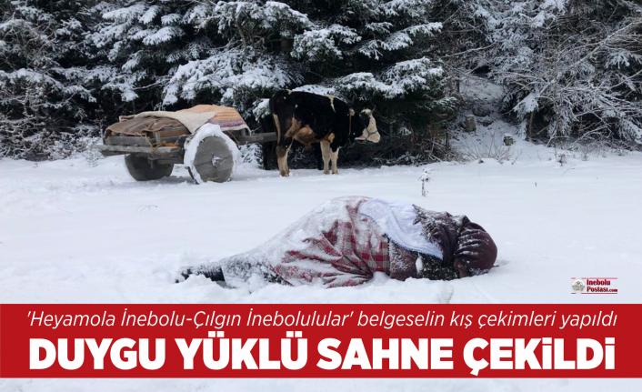 'Heyamola İnebolu-Çılgın İnebolulular' belgeselin kış çekimleri yapıldı