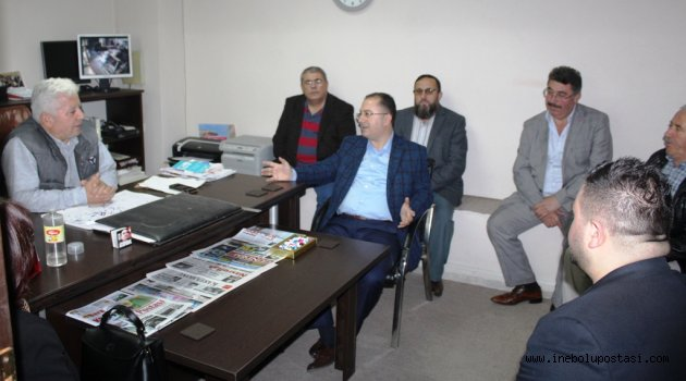 AK Parti İlçe Başkanı Özay: 'Kucaklayıcı Olacağız'