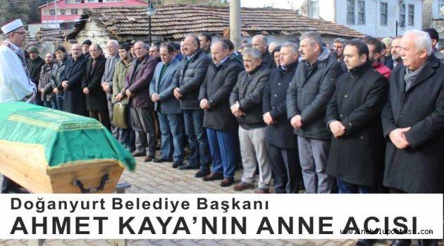Doğanyurt Belediye Başkanı Ahmet Kaya'nın Anne Acısı