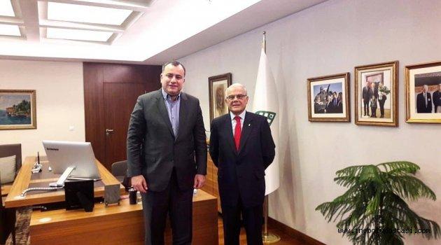 Faruk Öz 'Çankaya Belediyesi Kardeş Belediye Olacak'