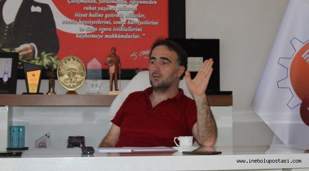 İşeri: Cezaevi için Ankara Masrafları Ticaret Odasından