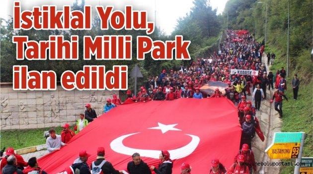 """İstiklal Yolu, """"Tarihi Milli Parkı""""  ilan edildi"""