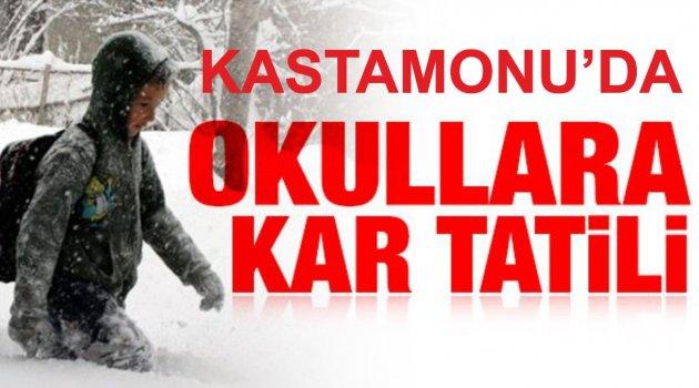 Kastamonu'da Kar Tatili