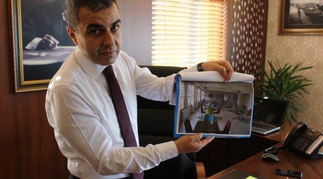 Kaymakam Atasoy, okullardaki fiziki çalışmalar hakkında bilgi verdi