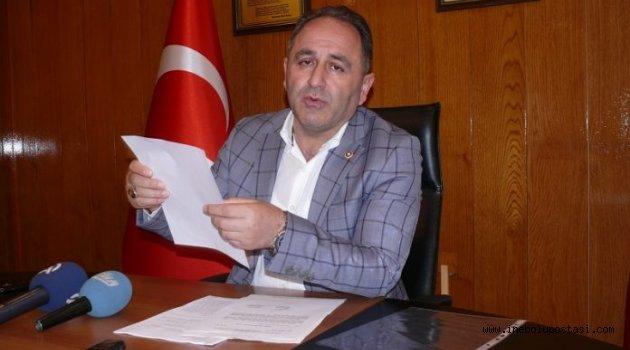 'İNEBOLU'YA İHANET EDİYOR, BAŞKANLIĞI BIRAKSIN'