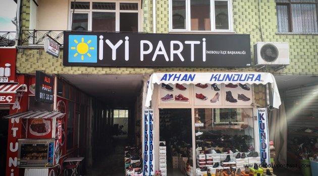 İYİ Parti İnebolu İlçe Teşkilatlanması Tamamlandı