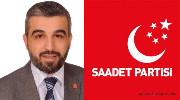 Saadet Partisi'nden Kastamonu 1. Sıra Bilal Çodur'un