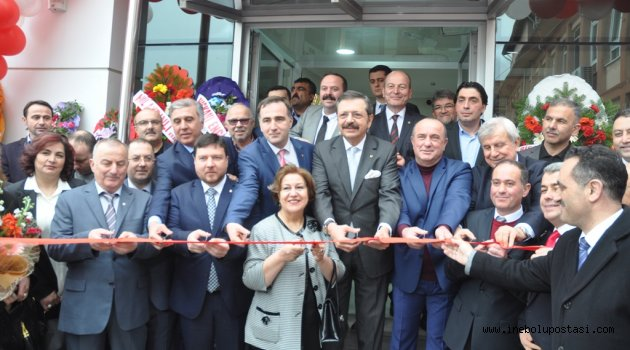 TOBB Başkanı Hisarcıklıoğlu'ndan İnebolu'ya Okul Sözü