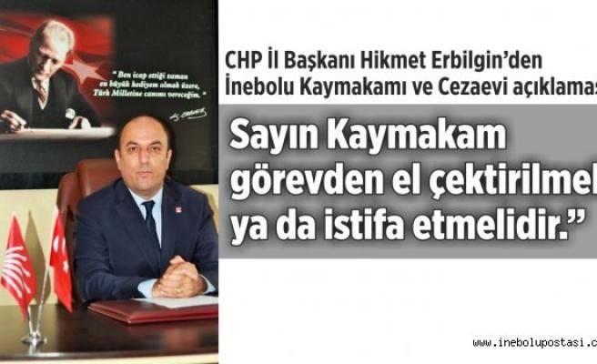 'AKP 3 yıldır İnebolu'yu kandırıyor'