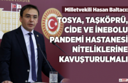 Milletvekili Baltacı'dan Uyarılı Mesaj