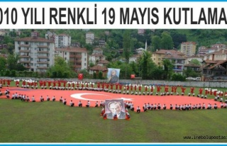 2010 Yılında Renkli 19 Mayıs Kutlaması