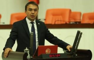 CHP Kastamonu Milletvekili Hasan Baltacı Parti Meclisi'ne...