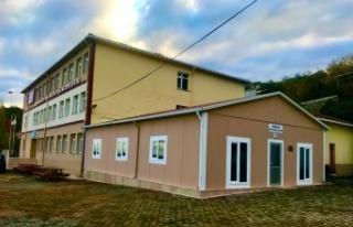 Hüseyin Avni İlkokulu'na Çok Amaçlı Salon yapıldı