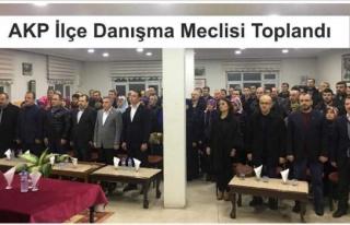 AKP İnebolu Danışma Meclisi Toplandı