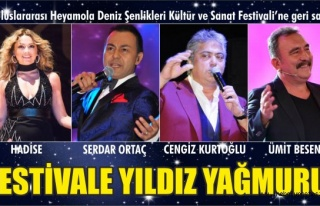 FESTİVAL SANATÇILARI BELİRLENDİ