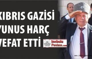 Gazi Yunus Harç hayatını kaybetti