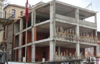 İnebolu TSO inşaatı hızla sürüyor