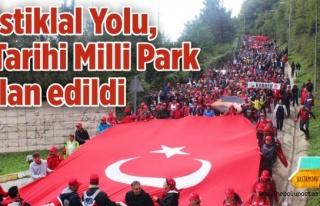 """İstiklal Yolu, 'Tarihi Milli Parkı"""" ilan edildi..."""