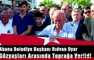 Kansere Yenik Düşen Abana Belediye Başkanı Rıdvan...