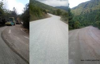 KÖYDES 1. kat asfalt ve stabilize çalışmaları...