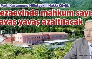 Milletvekili Hakkı Köylü'ye Cezaevinin durumunu...