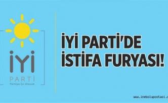 İNEBOLU İYİ PARTİ'DE İSTİFA FURYASI!
