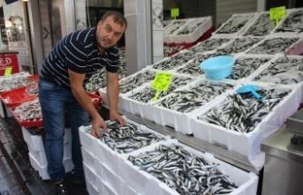 Av yasağının sona ermesiyle balık tezgahları şenlendi