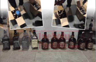 İnebolu'da Kaçak İçki Operasyonu