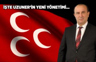 İnebolu MHP'de Yeni Yönetim Belirlendi