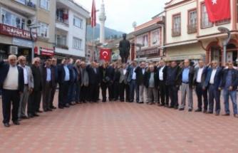 Biz Bize Yeteriz Türkiyem Kampanyası'na İnebolu Muhtarlar Derneğinden destek
