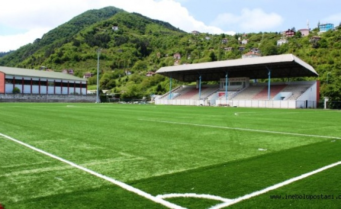 9 Haziran Stadyumu suni çime kavuştu