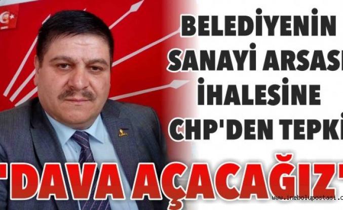 CHP'li Çelebioğlu'ndan Belediye İhalesine Tepki
