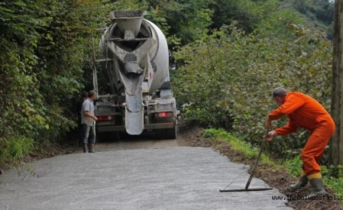 Sahil ilçelerinde beton yol projelerine 'yüksek fiyat' engeli