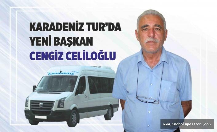 Karadeniz Tur'un Yeni Başkanı Cengiz Celiloğlu