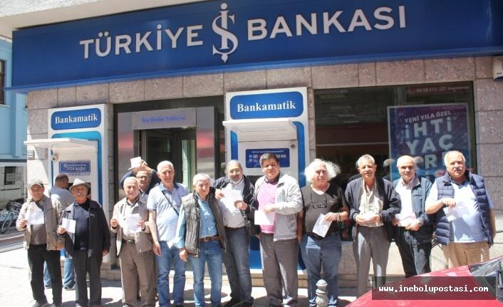 İnebolu CHP'den, Ekrem İmamoğlu'na bağış desteği