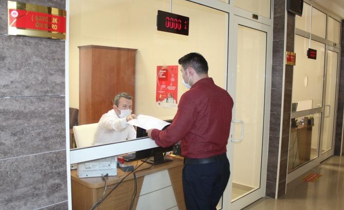 İnebolu Adliyesinde Ön Büro Sistemi uygulaması başladı