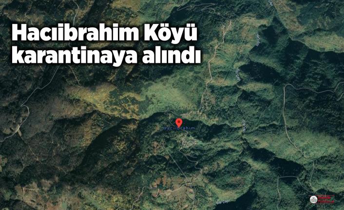 Hacıibrahim Köyü 14 gün karantinada
