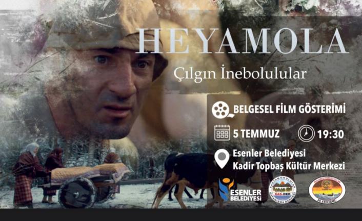 'Heyamola Çılgın İnebolular' belgeseli İstanbul'da da gösterime girecek