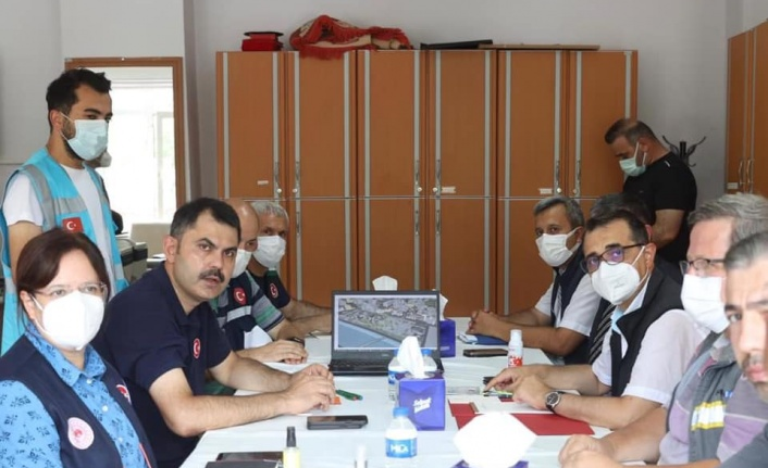 Bozkurt, Abana ve İnebolu, doğalgaz çalışması