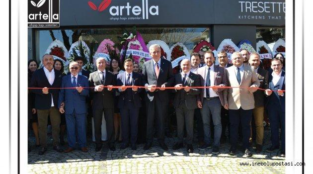 İnebolulu Aslandağ Grubu, Etiler'de mağaza açtı