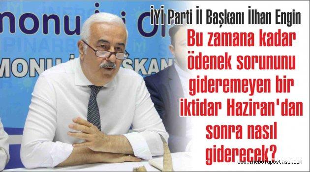 İYİ Parti İl Başkanı İlhan Engin'den Murat Demir'e cevap