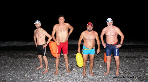 Kahraman Denizci Ecdatlarımızı 9 Haziran'da Denizde Andılar