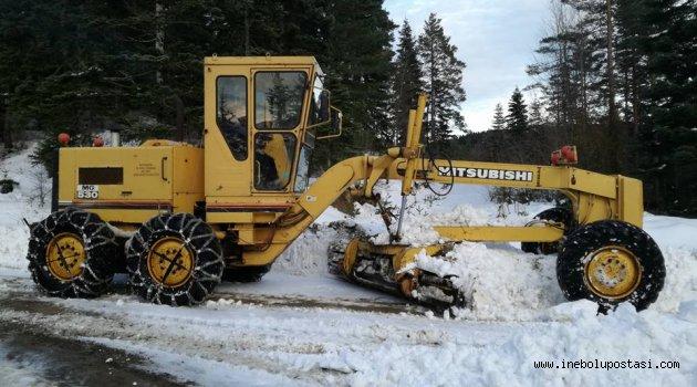 Kar köyleri vurdu - 22 köy yolu ulaşıma kapalı