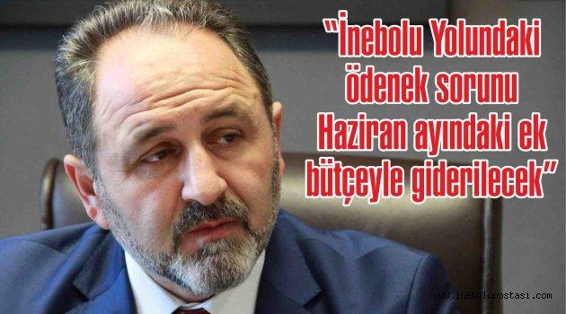 Milletvekili Murat Demir İnebolu yolu açıklaması
