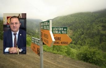 Özay açıkladı: 'İstiklal Yolu Milli Park Şefliği İnebolu'ya açıldı'