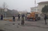 Ücretsiz 53 ton patates dağıtıldı